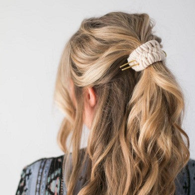 CA Makes + Zelma Rose Woven Hair Cuff