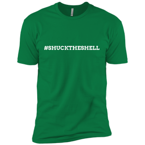 Green Men's Shuck The Shell T-Shirt by Boilerplate Crab & Co