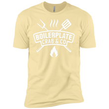 Yellow Men's Boilerplate Crab & Co T-Shirt