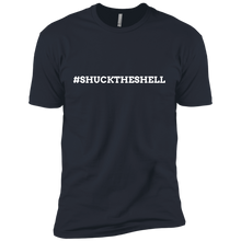 Dark Blue Men's Shuck The Shell T-Shirt by Boilerplate Crab & Co