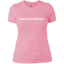 Pink Women's Shuck The Shell T-Shirt by Boilerplate Crab & Co