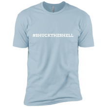 Light Blue Men's Shuck The Shell T-Shirt by Boilerplate Crab & Co