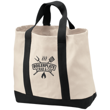 Black Boilerplate Crab & Co Shopping Tote