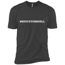 Gray Men's Shuck The Shell T-Shirt by Boilerplate Crab & Co