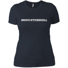 Blue Women's Shuck The Shell T-Shirt by Boilerplate Crab & Co