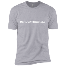 Light Gray Men's Shuck The Shell T-Shirt by Boilerplate Crab & Co