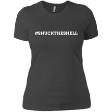 Women's Shuck The Shell T-Shirt by Boilerplate Crab & CoGray