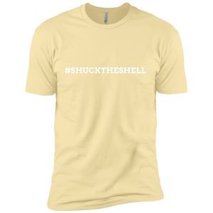Yellow Men's Shuck The Shell T-Shirt by Boilerplate Crab & Co