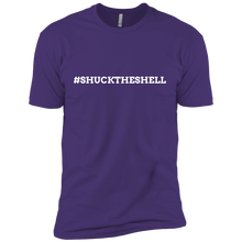 Purple Men's Shuck The Shell T-Shirt by Boilerplate Crab & Co