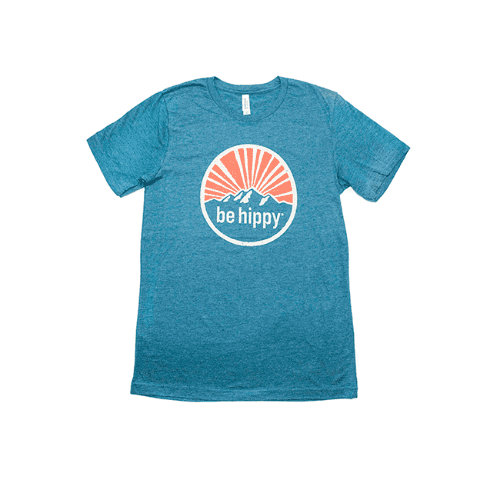 Be Hippy Unisex Moutain T-Shirt