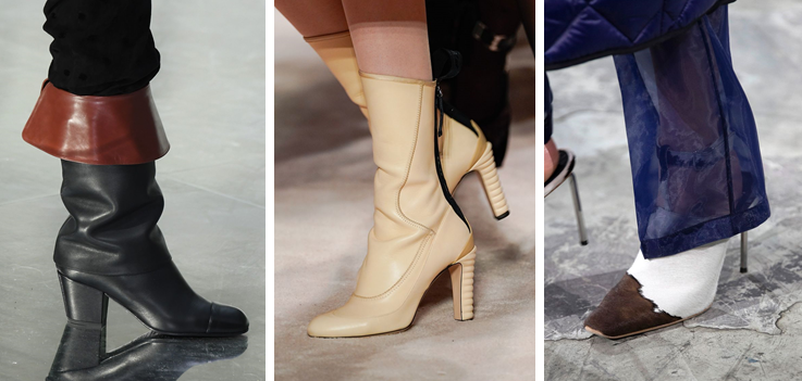 Chanel, Fendi, Off-White Kaitlyn Pan Shoes FW2020 fashion trend