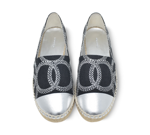 Kaisa Two Tone Espadrille Slip-On