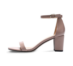 Hannah Block Mid Heel Sandals