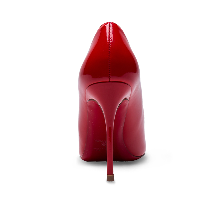 pointed toe red sole high heel pumps