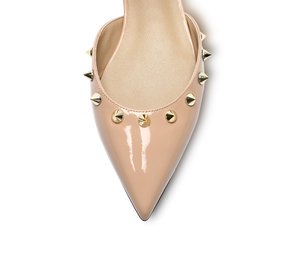 Spiky D'orsay Flats