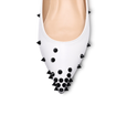 Skittle Studded Leather Flats