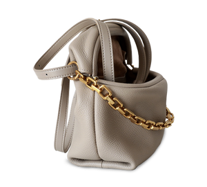 Aretha Cross Body Clip Saddle Bag