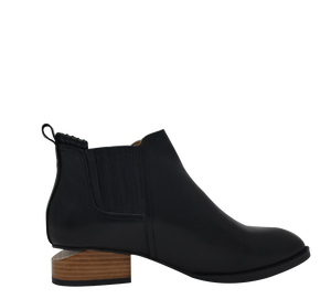 Cut Out Heel Ankle Boots