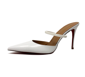 Donna Two Way Leather Slingbacks - Final Sale