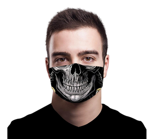 Skull Washable Mask