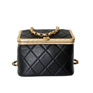 Alexandra Quilted Box Bag