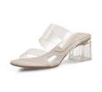 Maddy PVC Block Heel Sandals