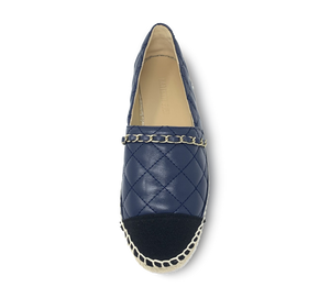 Glenda Espadrille Slip-On with Chain