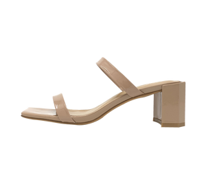 Quinn Nearly Nude Block Heels