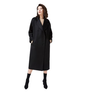 Mary Double Breasted Cashmere Coat