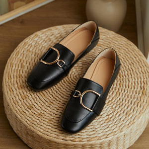 Buckled Two-way Loafer