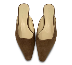 Square Toe Mules - Final Sale