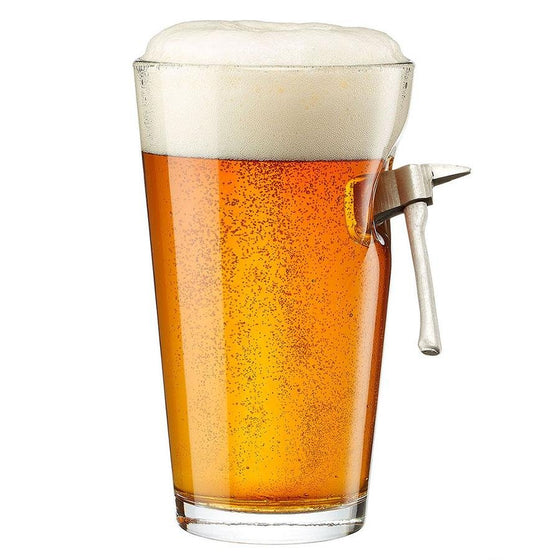 BenShot Fire Axe Pint Glass