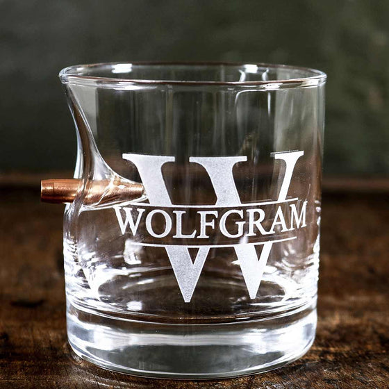 Custom Etched Rocks Glass- 11oz - BenShot