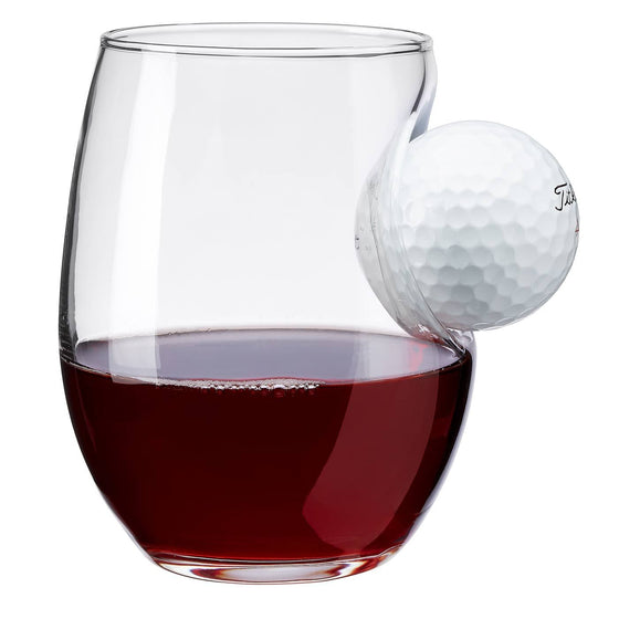 Golf Ball Wine Glass - BenShot