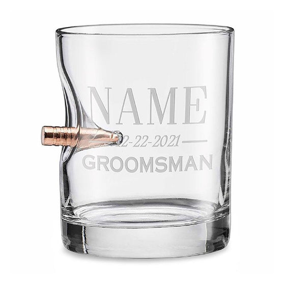 Groomsmen Rocks Glass - 11oz - BenShot