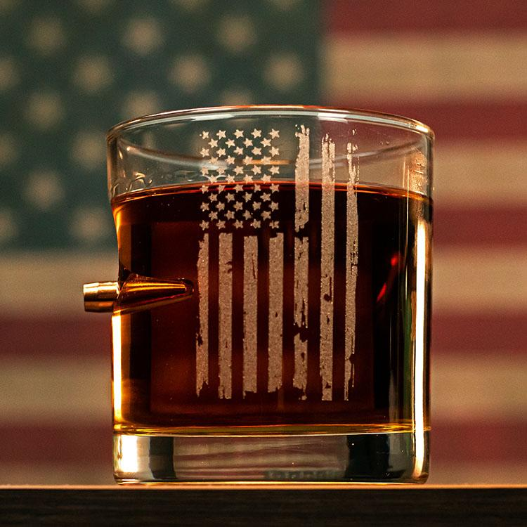 Patriotic Rocks Glass- 11oz - BenShot
