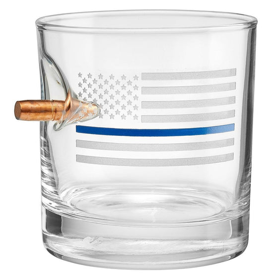 Thin Blue Line Glasses - BenShot