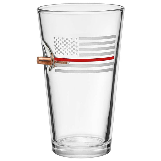 Thin Red Line Pint Glass - BenShot