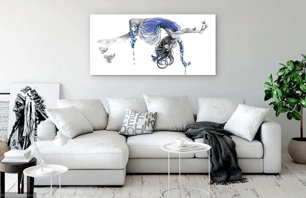 """Fly by your own wings""- Limited edition 60""x30"""