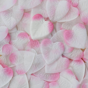Pink silk heart petals, 500 - Intimate Hearts Ignite Passion