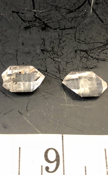 Herkimer Diamond Pair 1015-17 - Of Coins & Crystals