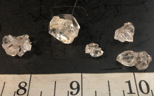 Herkimer Diamond Mini Cluster Lot 113-33 - Of Coins & Crystals