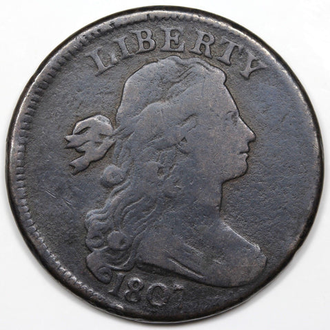 1807 Large Cent  VG-8 - Of Coins & Crystals