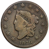 1826 Large Cent VG-10 - Of Coins & Crystals