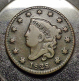 1828 Large Cent VG-8 - Of Coins & Crystals