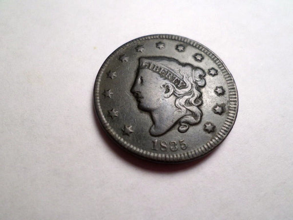 1835 Large Cent VG-10 - Of Coins & Crystals