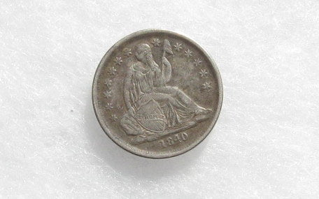 1840 O Seated Liberty Dime XF45 - Of Coins & Crystals