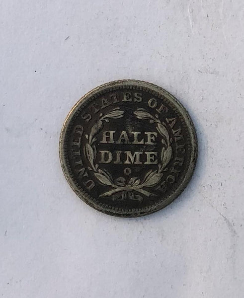 1840 O drapery  Half Dime VF-20 | Of Coins & Crystals