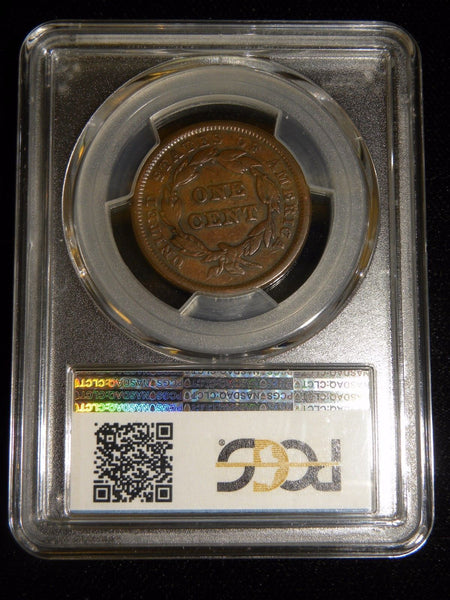 1841 Large Cent PCGS VF-20 - Of Coins & Crystals