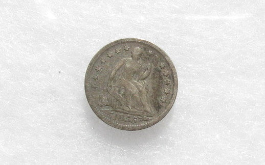 1855 Half Dime VF-30 - Of Coins & Crystals